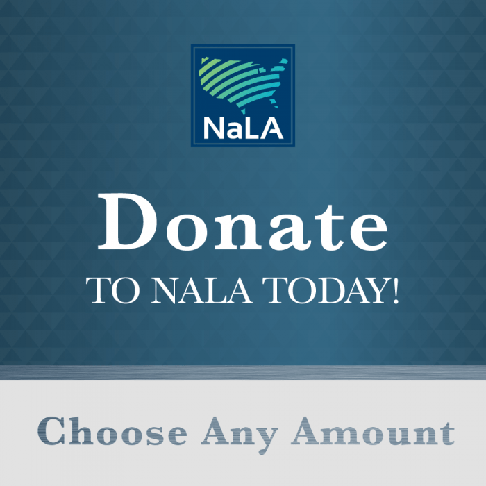 Donate NaLA National Lifeline Association